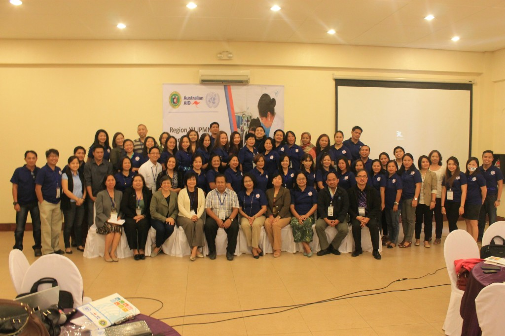 rCHITS in Davao for JPMNH - group